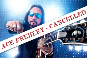 Ace Frehley formerly of KISS
