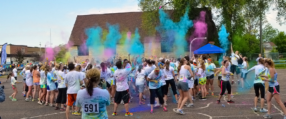 color run event